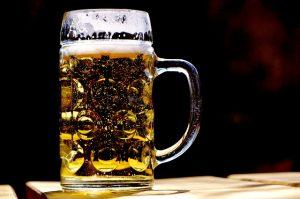 Kühles Bier...